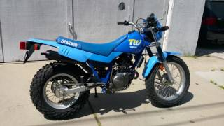 10. 1989 Yamaha TW200 Walkaround & Start