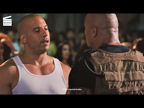 Fast Five: Hobbs wants to arrest Dom and Brian HD CLIP