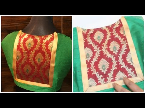 Video Stylish Hi-Neck Blouse Cutting & Stitching(DIY) download in MP3, 3GP, MP4, WEBM, AVI, FLV January 2017