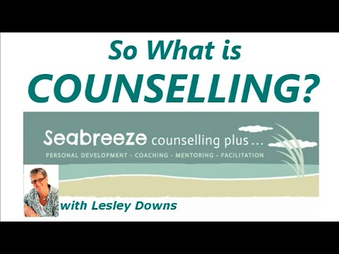 So what is Counselling?