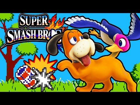 Super Smash Bros 4 3DS: Duck Hunt! Dog Zapper New Secret Character Gameplay Walkthrough PART 11