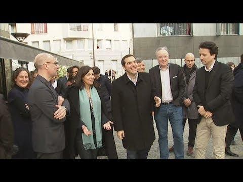 Στο Παρίσι  ο πρόεδρος του ΣΥΡΙΖΑ, Αλέξης Τσίπρας