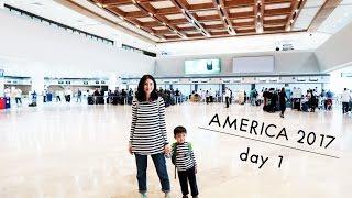 Long Haul Flight For The Bonifacios   Mama Wanders  Day One  Us 2017