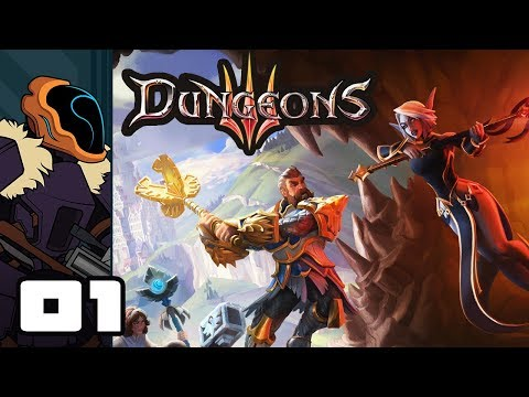 Let's Play Dungeons 3 - PC Gameplay Part 1 - The Shadow Of Absolute Evil (видео)
