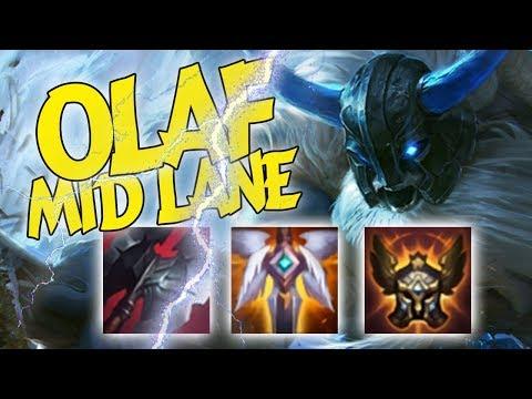HÀ TIỀU PHU | OLAF ĐƯỜNG GIỮA SIÊU HIỆU QUẢ - League of Legends - Thời lượng: 10 phút.