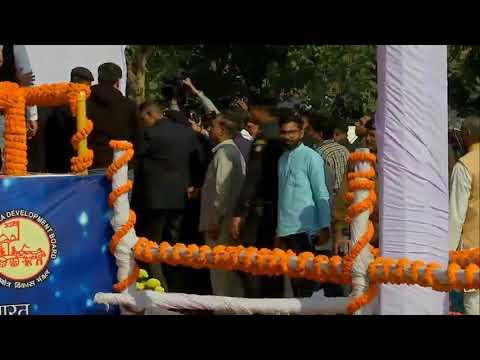 Embedded thumbnail for CM Manohar Lal attends International Gita Mahotsav at Theme Park, Kurukshetra(08-12-19)
