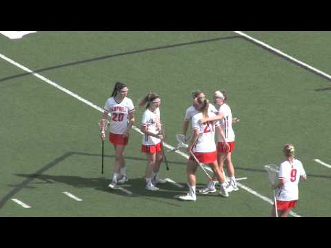 Women's Lacrosse vs Winthrop - 4/10/15