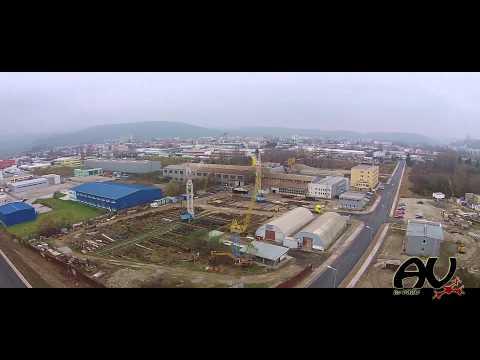 Trenčín Drone Video