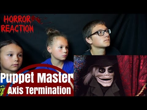 Puppet Master Axis Termination - Official Trailer Reaction!!!