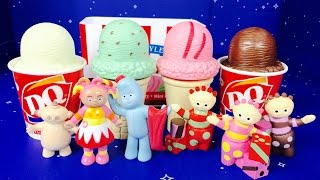 IN THE NIGHT GARDEN Toys Ice Cream Fun!