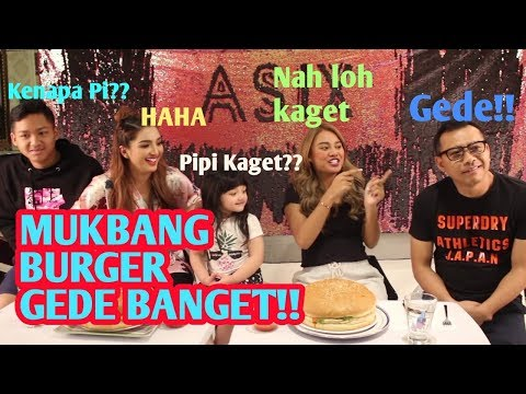 THE HERMANSYAH - MUKBANG BURGER RAKSASA, MAS ANANG SAMPAI GUMOH?!!