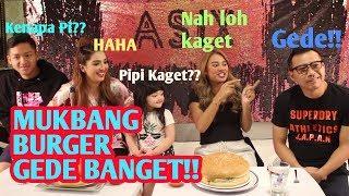 Video MUKBANG BURGER RAKSASA, MAS ANANG SAMPAI GUMOH?!! MP3, 3GP, MP4, WEBM, AVI, FLV September 2019