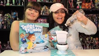 Toilet Trouble Game by Hasbro  WookieWarrior23We are a family of toy collectors! Our videos include toy reviews, costumes, cosplay, tutorials, challenges, blind bags, vlogs, toy hunts, and stop motion videos. Drusila and Nessy love all things Monster High, plus Vamplets, Zelfs, Disney, Play Doh, and Funko. Daddy loves anything Lego, and he does a regular Daddy's Toy Hunt series. We're fun and goofy and a little bit crazy, and we like to give truthful opinions of the toys we review. We love sharing our videos with viewers around the world! Monster High Boo York Boo York Reviews Playlisthttp://youtu.be/HlvjVYoQhqIChallenges Playlist:https://www.youtube.com/playlist?list=PL3waLuL3Pk2-gULcDcrmeN6NttkR8uRJ5Toy Hunting Videos Playlisthttps://www.youtube.com/playlist?list=PL3waLuL3Pk29xpmZsloUgB81q88B1pTnUDrusila Talks About Vlogshttps://www.youtube.com/playlist?list=PL3waLuL3Pk2-zLjg_AflX4vKoX5QmGlkGBlind Bags Fever Videoshttps://www.youtube.com/playlist?list=PL3waLuL3Pk29gdX71OkFPzInCTjv44bKGMonster High Halloween Costumes and Cosplayhttps://www.youtube.com/playlist?list=PL3waLuL3Pk2_2WP4hKQ8_dpXaZVlSN4U9Monster High SDCC Exclusive Dolls Reviewshttps://www.youtube.com/playlist?list=PL3waLuL3Pk28sle3rpHRgsT8uGCe7aSr1Custom Dolls Videos https://www.youtube.com/playlist?list=PL3waLuL3Pk2-40nNY81VeFoKONmMA0g27Follow us :http://instagram.com/wookiewarrior23ythttps://www.flickr.com/photos/wookiewarrior23https://plus.google.com/+WookieWarrior23