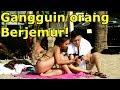 SELIMUTIN BULE YANG BERJEMUR! - Prank Indonesia