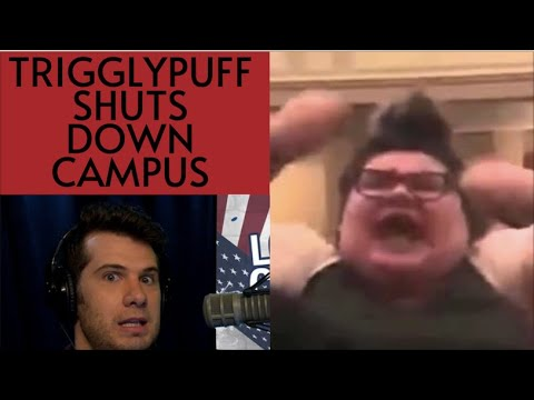 Protester Goes CRAZY During Event At UMass