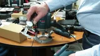 Bosch. GOF 1250 LCE Professional. Часть 03.