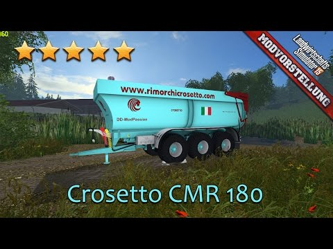 Crosetto CMR180 v1.0 Black Beauty