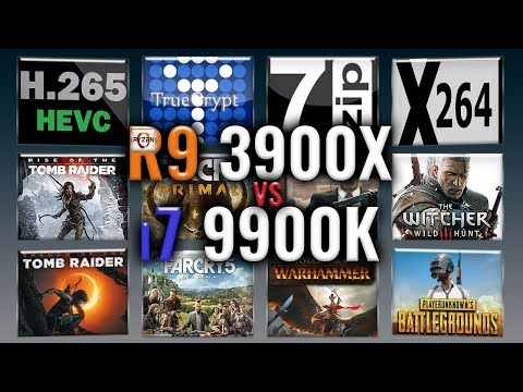 Download Amd Ryzen 9 3900x Vs Intel I9 9900k Cpu Comparison Video