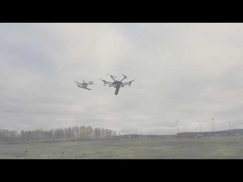 Máy dò vàng trên không mini drone