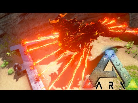 Ark Survival Evolved - StarKiller Weapon vs Dragon God, DodoRex, KingKong - Ark Gameplay