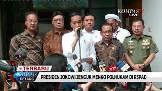 Presiden Jokowi: Usut Tuntas Penyerangan Wiranto