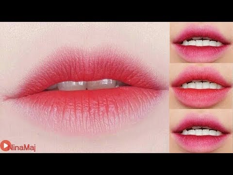 3 Korean Gradient Lips - How To 3 Gradient Lips