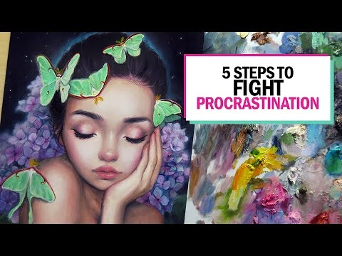 5 STEPS TO FIGHT PROCRASTINATION 🎨 Studio Sessions Ep. 1
