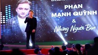 Khi Người Mình Yêu Khóc (Live) - Phan Mạnh Quỳnh Liv...
