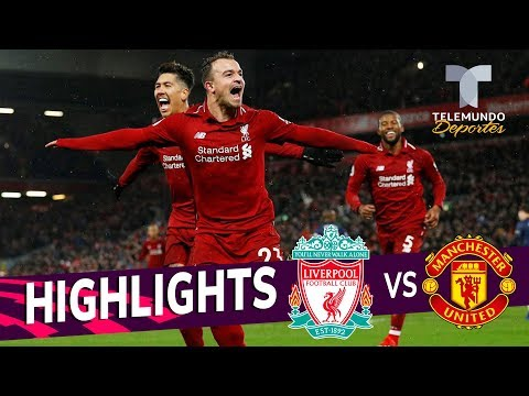 Liverpool Vs. Manchester United: 3-1 Goals & Highlights | Premier League | Telemundo Deportes
