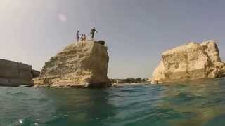 Fontane Bianche Italy  city images : Beach day and cliff diving at Fontane Bianche, Siracusa, Sicily