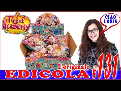 EDICOLA #131: REGAL ACADEMY (by Giulia Guerra) (видео)