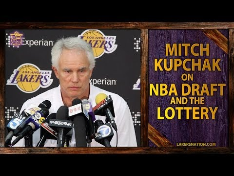Video: Lakers GM Mitch Kupchak On NBA Draft, No. 1 Pick And Trading The Pick