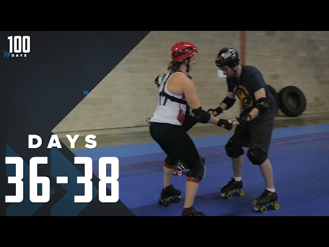 Retiring from Roller Skating: Days 36-38 | 100 Days (видео)
