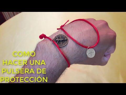 Videos caseros - COMO HACER PULSERA DE PROTECCIÓN CASERA y MUY FÁCIL. Y 100% EFECTIVO