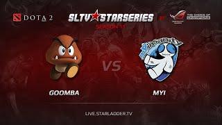 Goomba vs mYi, game 1