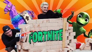 FORTNITE NA VIDA REAL!!