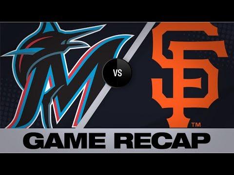 Alfaro, Rojas lift Marlins to 4-2 win | Marlins-Giants Game Highlights 9/14/19