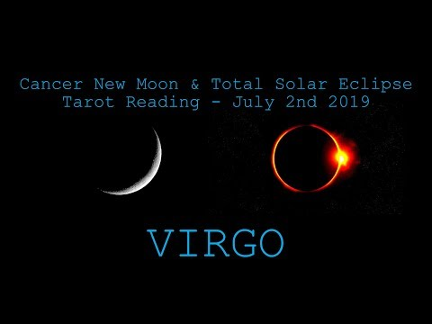 Virgo - The Challenge Is Coming To An End! - New Moon & Solar Eclipse Reading July 2019
