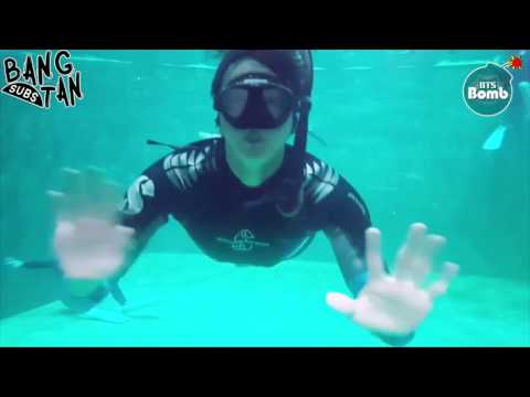 Video [ENG] 170113 [BANGTAN BOMB] Jin's 'Skin diving' Training for Law of the Jungle download in MP3, 3GP, MP4, WEBM, AVI, FLV January 2017