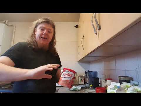 Slim fast - Slimfast Dieting Day 1158. Vlog2329. Breakfast.