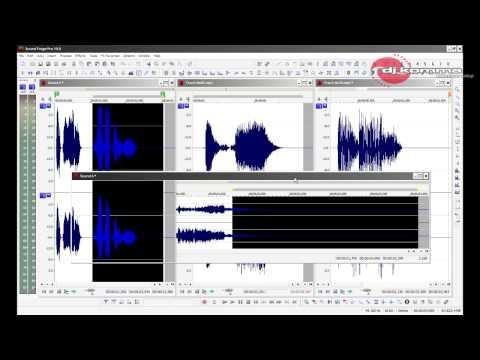 Tutorial #5 Como hacer Jingles,DJ drops o Spots en Sound Forge PRO 10 (Principiantes) (видео)