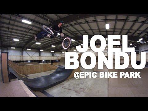 Joel Bondu rips Ottawa's Epic Bike Park