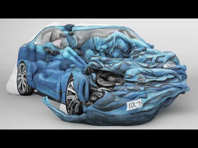 Body Crash - Car Artwork
