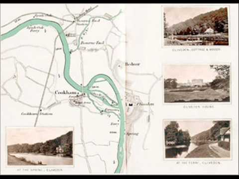 The River Thames Picture map