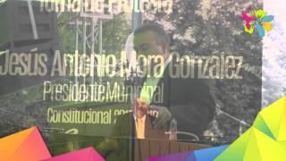 Jesús Mora González rinde protesta como presidente municipal.