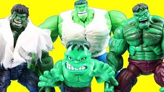Hulk family Vs Thanos Family + Hulk Gets Out Of Jail ! Superhero Toys