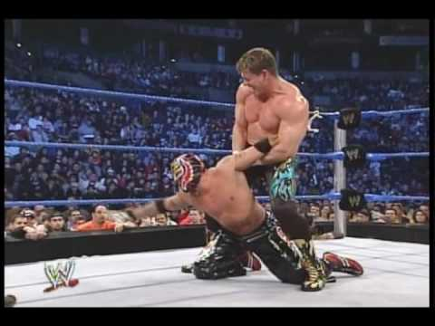 Eddie Guerrero vs Rey Mysterio WWE Championship Match Part 1