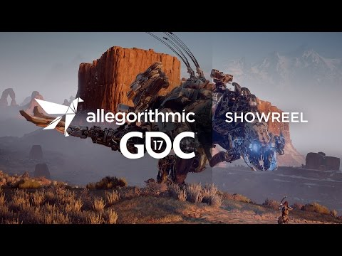 GDC 2017 Allegorithmic Substance Showreel
