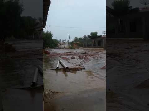 Governador luiz rocha muita lama com uma só chuva