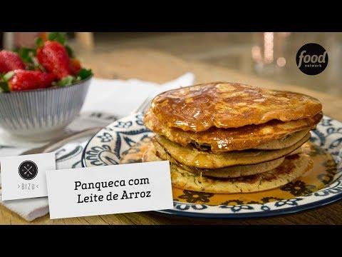 PANQUECA COM LEITE DE ARROZ | BIZU